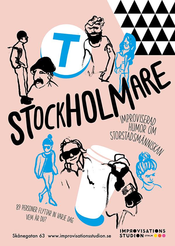 Stockholmare - föreställningar på Improvisationsstudion