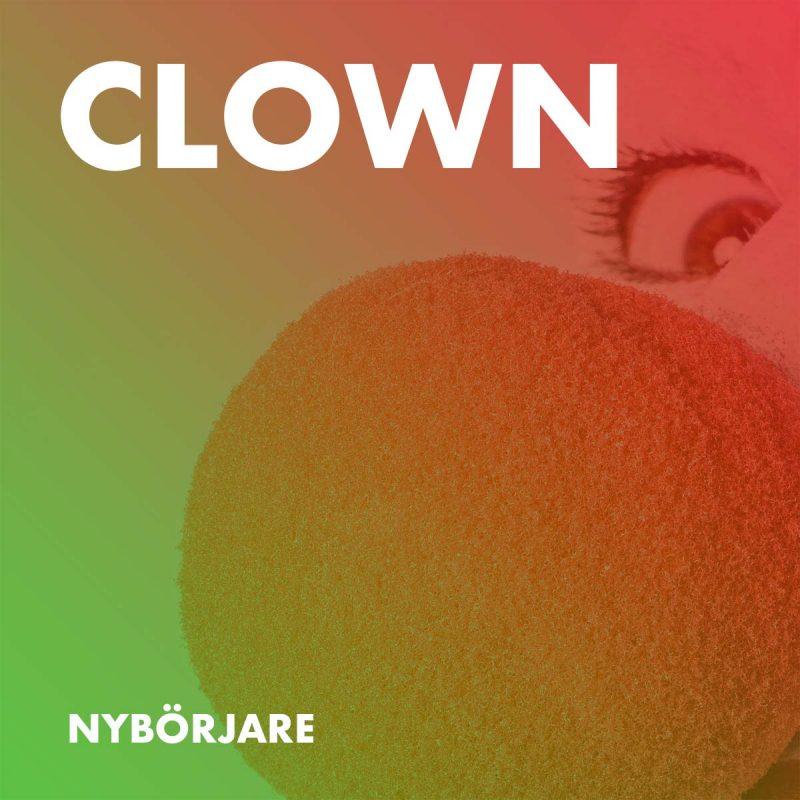 Teaterkurs, Clown - Nybörjare
