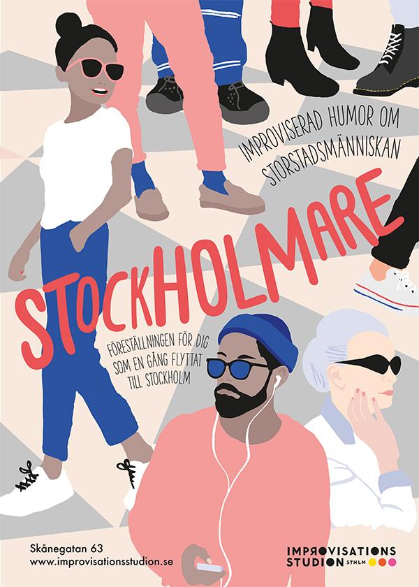 Stockholmare - Föreställning på Improvisationsstudion