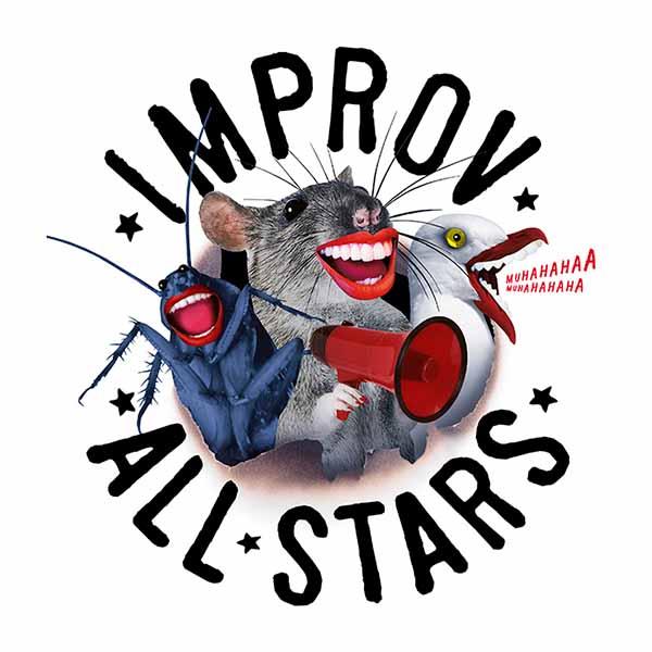Improv All Stars - Föreställning på Improvisationsstudion